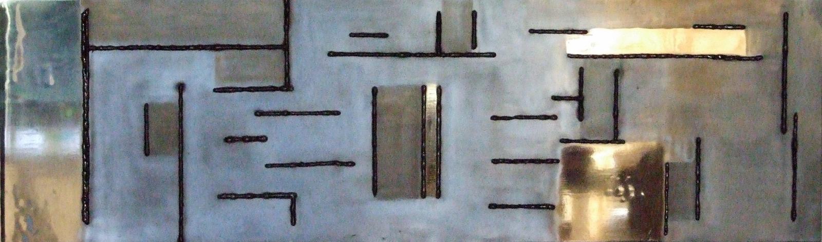 Compositie 1 | metaal | 33*120 | 2011